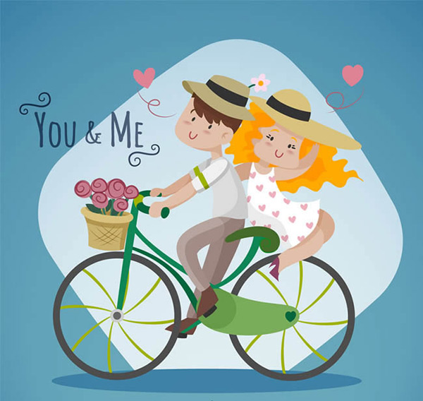 Cycling lovers