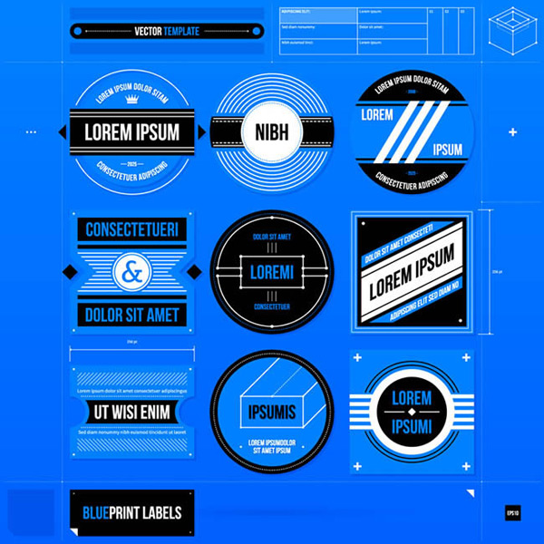 Design blueprint tag