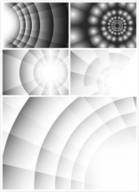 Diffusion abstract background