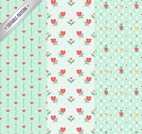 Elegant pattern seamless background