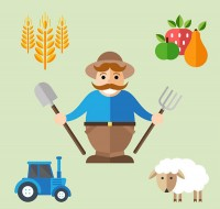 Farm element vector