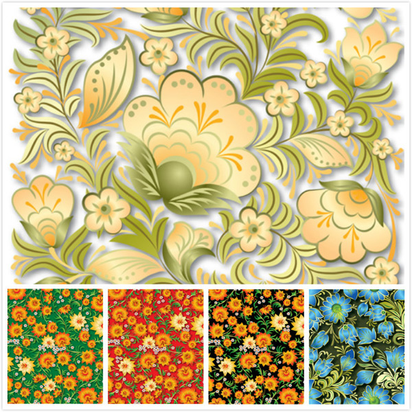Flower design background 1