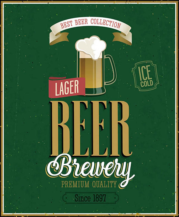 Foreign beer posters