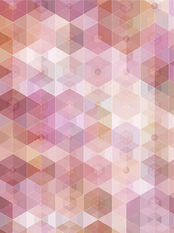 Hexagonal seamless background