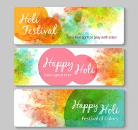 India color Festival banner