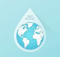 International water resource day card