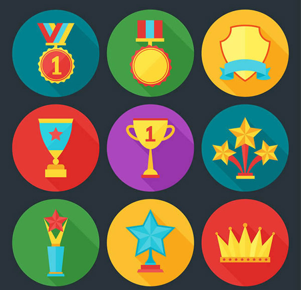 Medal and trophy Icon