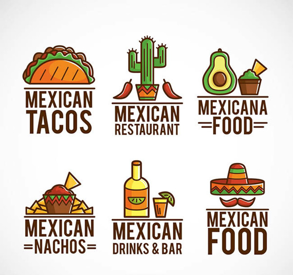 Mexico food sign