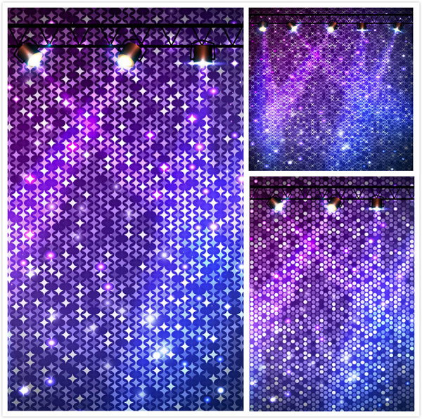 Mosaic gradient background