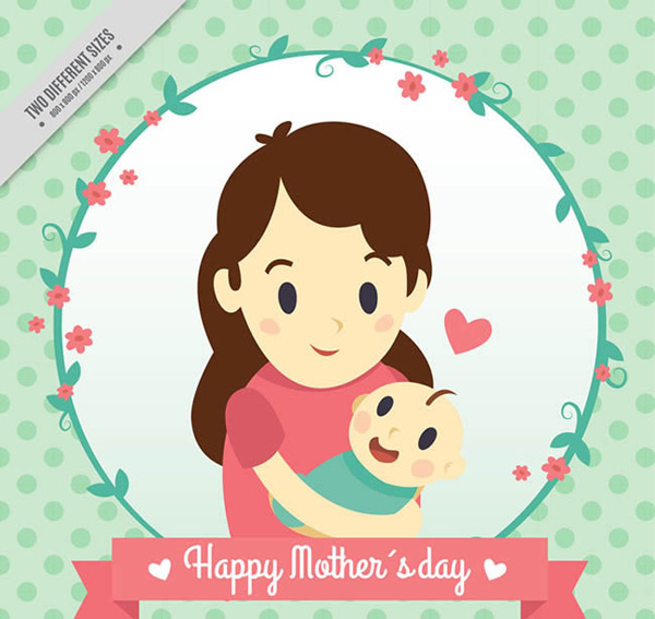 Mother and son mother s Day card