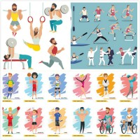 Motion character vector