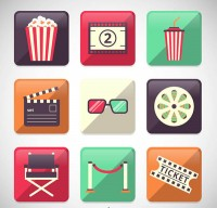 Movie element icon