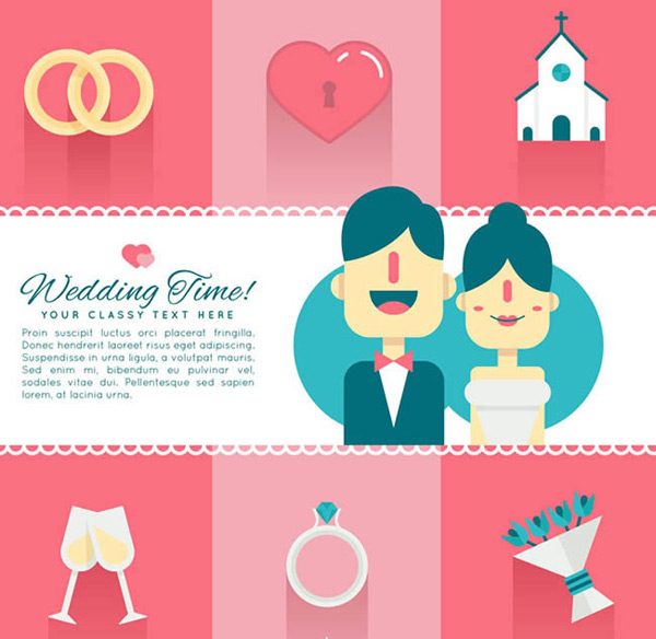 New and wedding elements