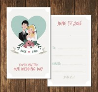 New wedding invitation card