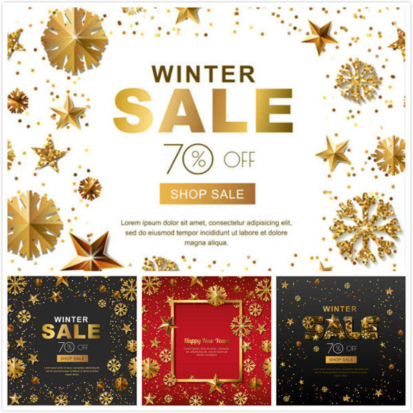 New year s winter promotion