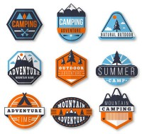 Outdoor sports labels