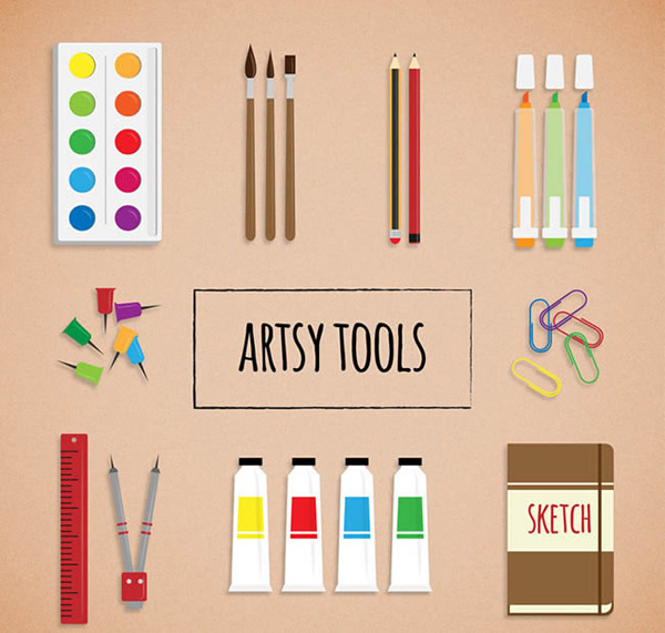 Painting tool vector