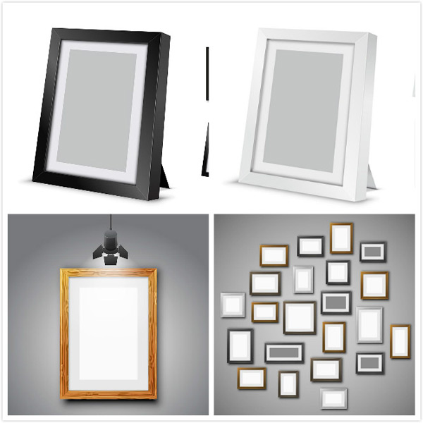 Photo frame vector material