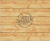 Plain wood background