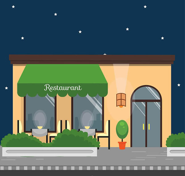 Restaurant in business