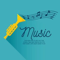 Trumpet Music Background