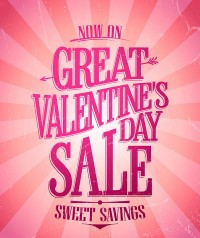 Valentine s day discount posters
