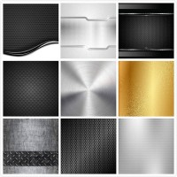 Vector background of metal material