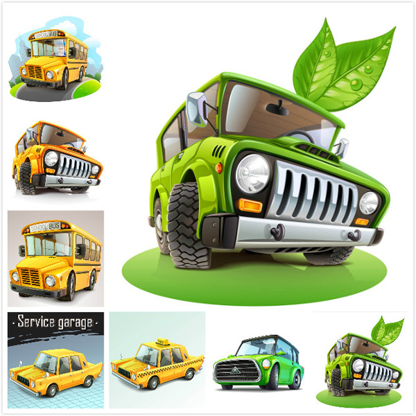 Vehicle vector material