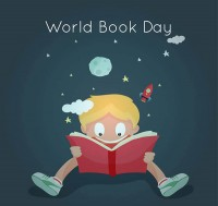 World Book Day greeting cards