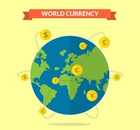 World currency illustration